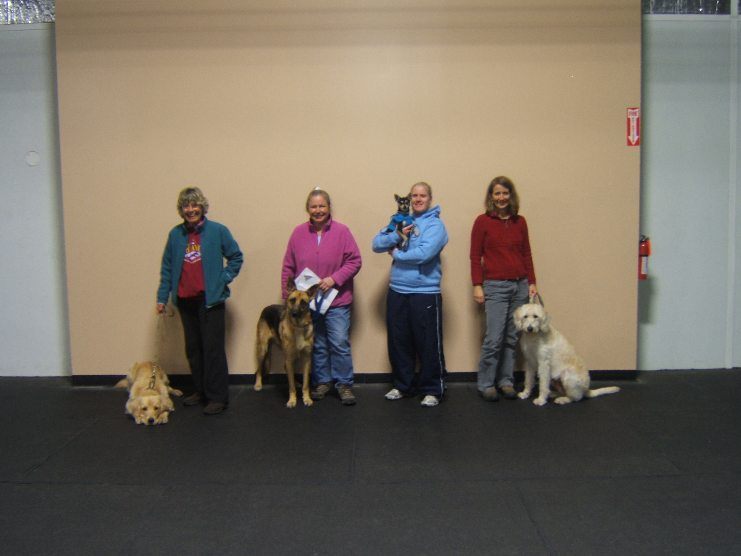 Canine Good Citizen Grads at Happy tails