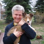 Marjorie &  puppy Dory apr2011